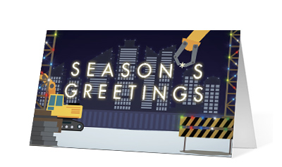 Precision corporate holiday print thumbnail