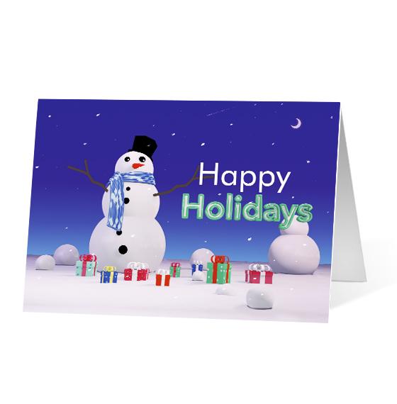 Snowman Surprise - Print