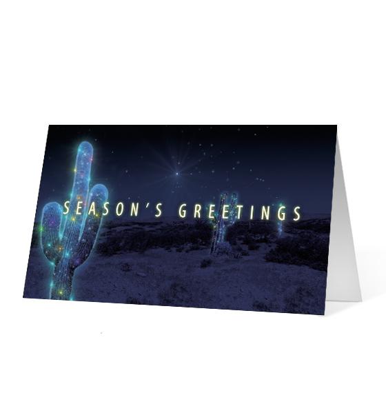 Cactus Wishes - Print