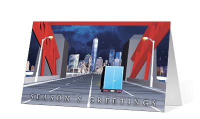 Holiday Highway corporate holiday print thumbnail