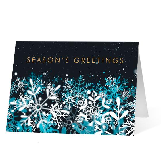 Snowflake Stream - Print