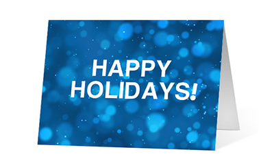 Lively Letters 2020 corporate holiday print greeting card thumbnail