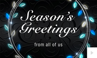 Wreath Lights corporate holiday ecard thumbnail