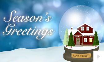 Wishes from Home corporate holiday ecard thumbnail