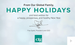 2020 CTG Custom corporate holiday ecard thumbnail