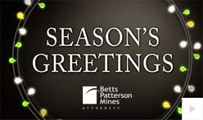 2020 BPM Law Custom corporate holiday ecard thumbnail