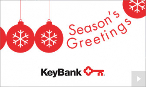2020 Keybank corporate holiday ecard thumbnail