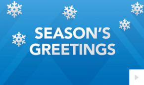 Holiday Vibe corporate holiday ecard thumbnail