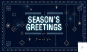 Holiday Pendants holiday ecard thumbnail