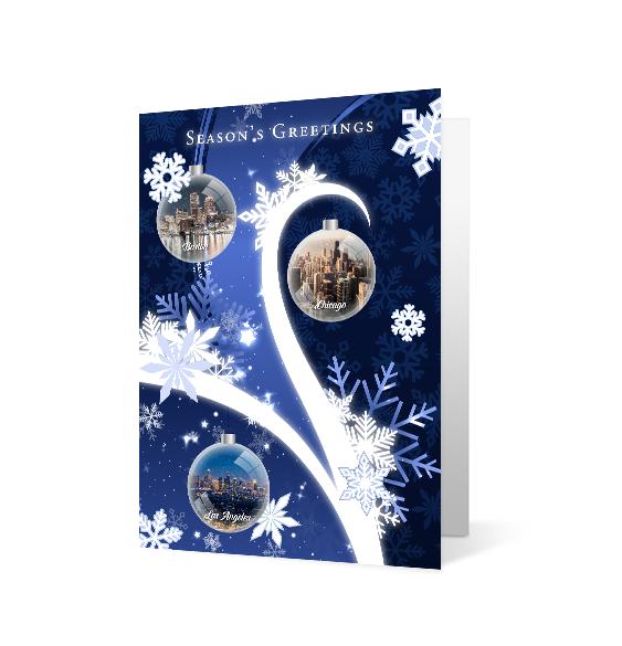 Snowflake Tree - Print