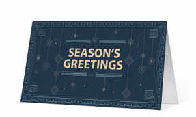 Holiday Pendants corporate holiday print thumbnail
