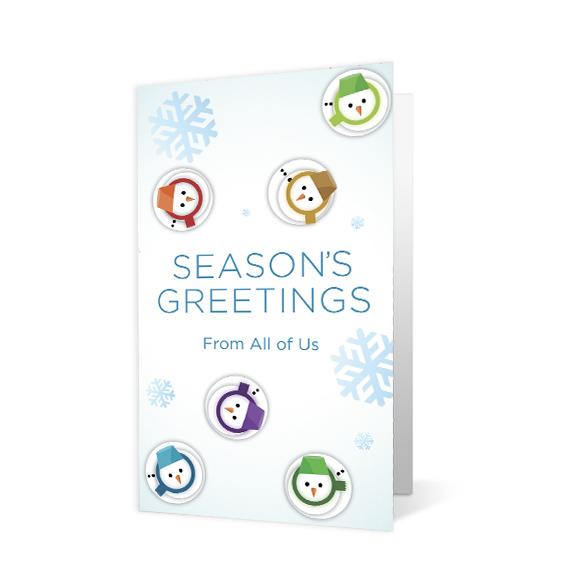 Snowman Waltz - Print