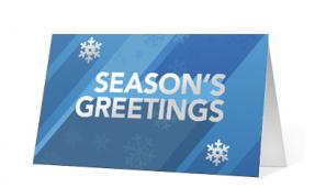 Holiday Vibe corporate holiday print thumbnail