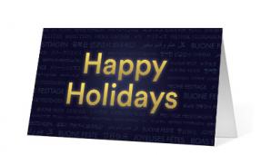 Uplifting Sentiments corporate holiday print thumbnail