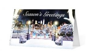 Holiday Tunnel corporate holiday print thumbnail