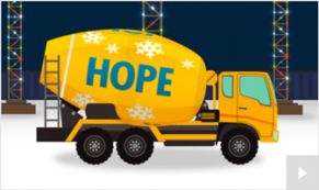 Cement Sentiments corporate holiday ecard thumbnail